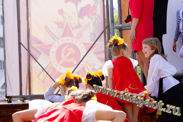Анапа День Победы 9 мая 2012г