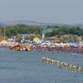 Вид с Набережной на Центральный пляж