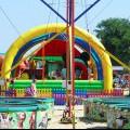 Анапа Центральный пляж детские аттракционы