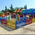 Анапа Центральный пляж игровая и развлекательная зона для детей