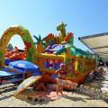 Анапа Центральный пляж детская игровая и развлекателная зона