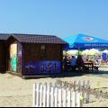 Анапа Центральный пляж небольшое кафе