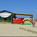 Анапа Центральный пляж детская игровая зона
