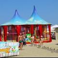 Анапа Центральный пляж развлечения и игры для детей