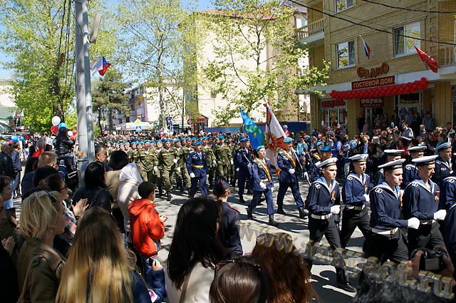 Анапа 9 мая 2015 года ул. Астраханская