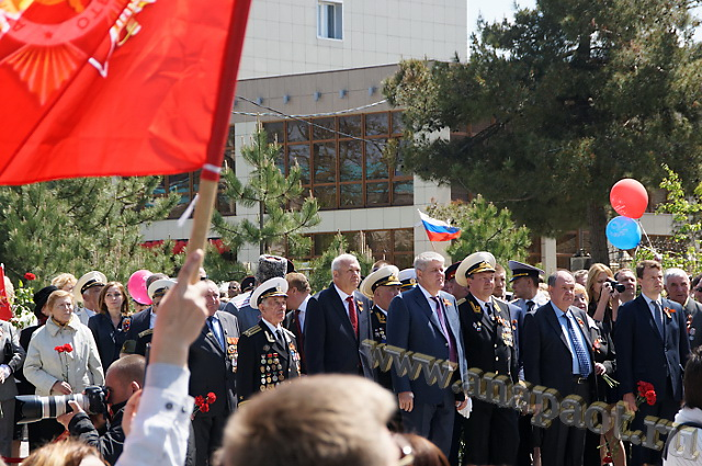 Празднование 70-летия Победы в Анапе