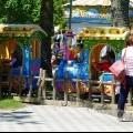 Анапа День Победы 2016г Набережня детский развлекательный комплекс