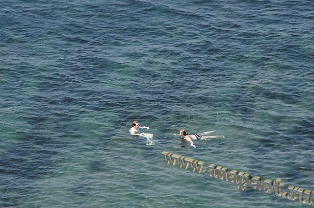 Анапа Высокий Берег 5 июля 2016г море