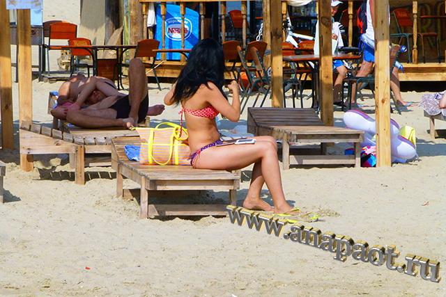 Пляж Демете отдыхающие