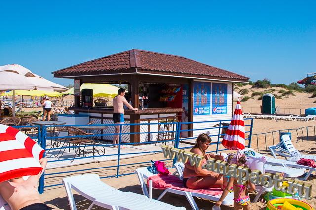 Пляж Витязево бар